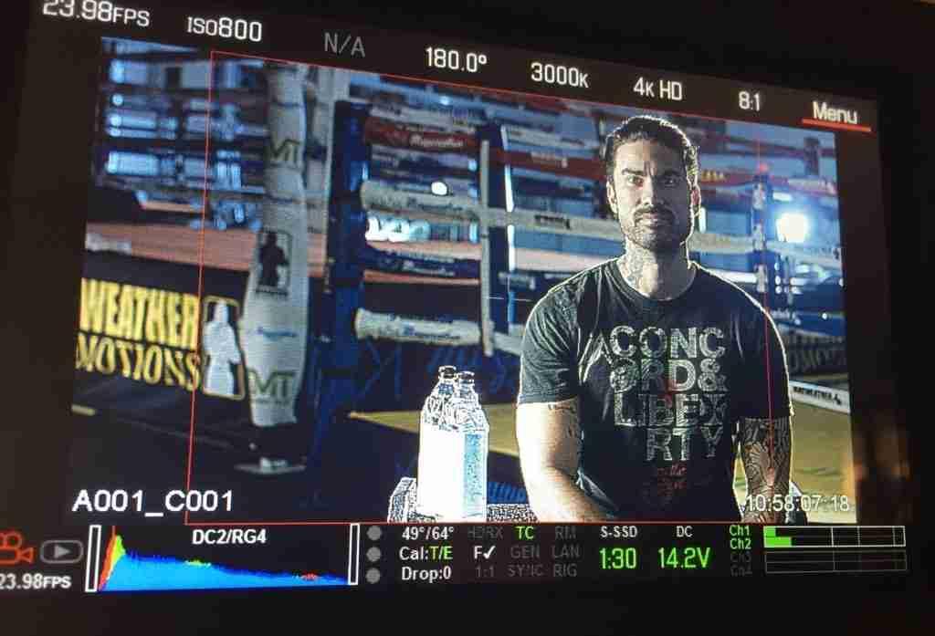 Boxing Video Shoot